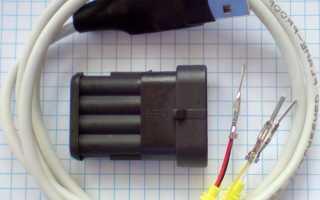 Как самостоятельно сделать диагностический шнур для настройки ГБО 4 поколения