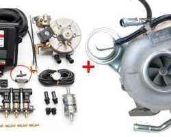 Возможно ли поставить газовое оборудование на мотор с турбиной