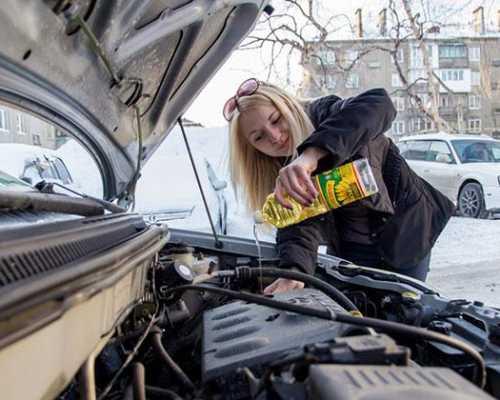Моторное масло для двигателя на газу