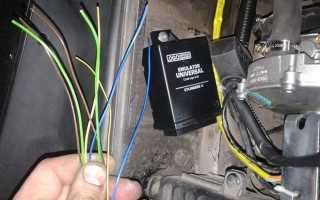 Как выбрать и подключить эмулятор ГБО 2 поколения на инжекторную машину самостоятельно