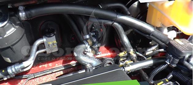 Установка газового оборудования на автомобиль своими руками